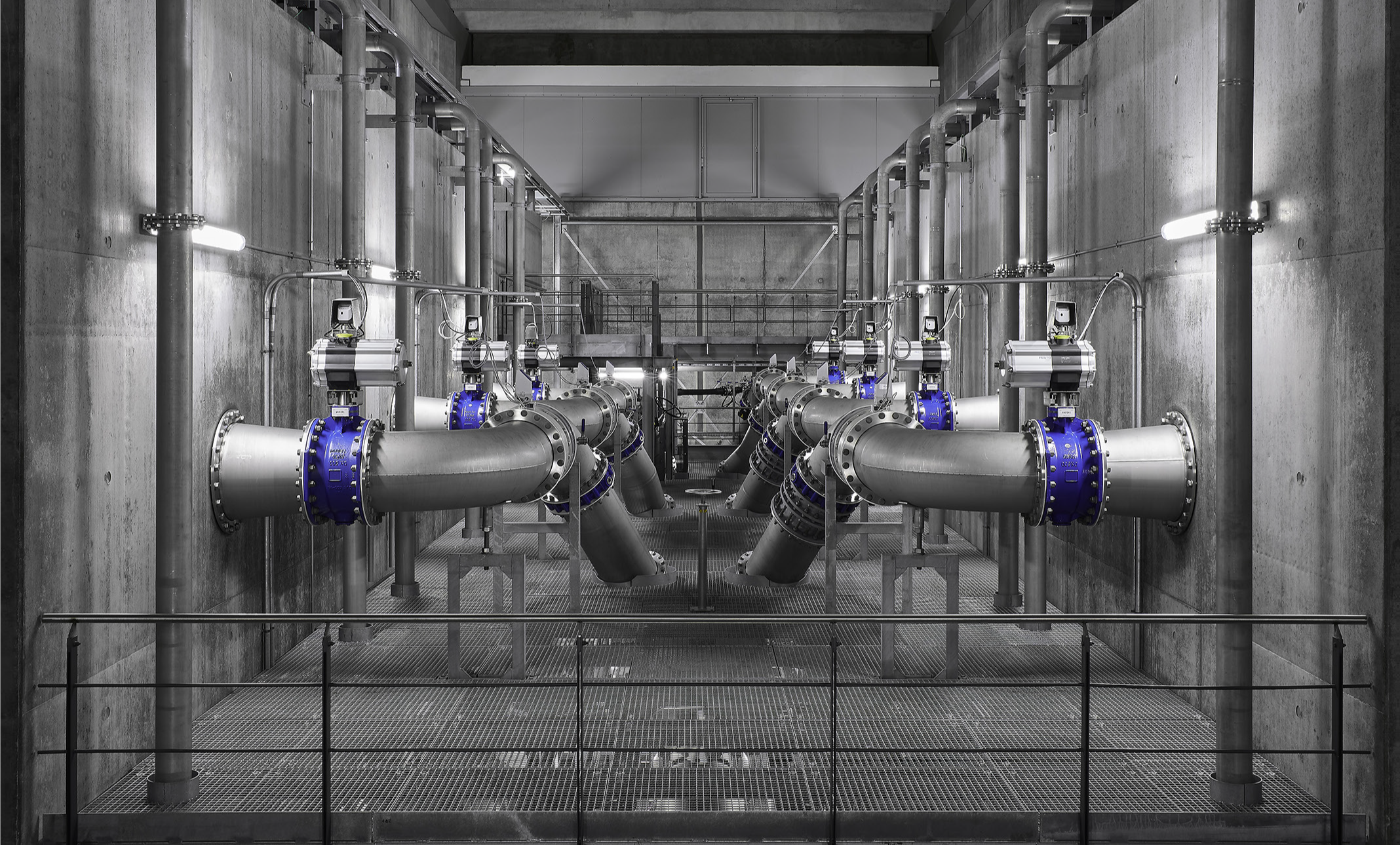 pneumatic system in the water industry